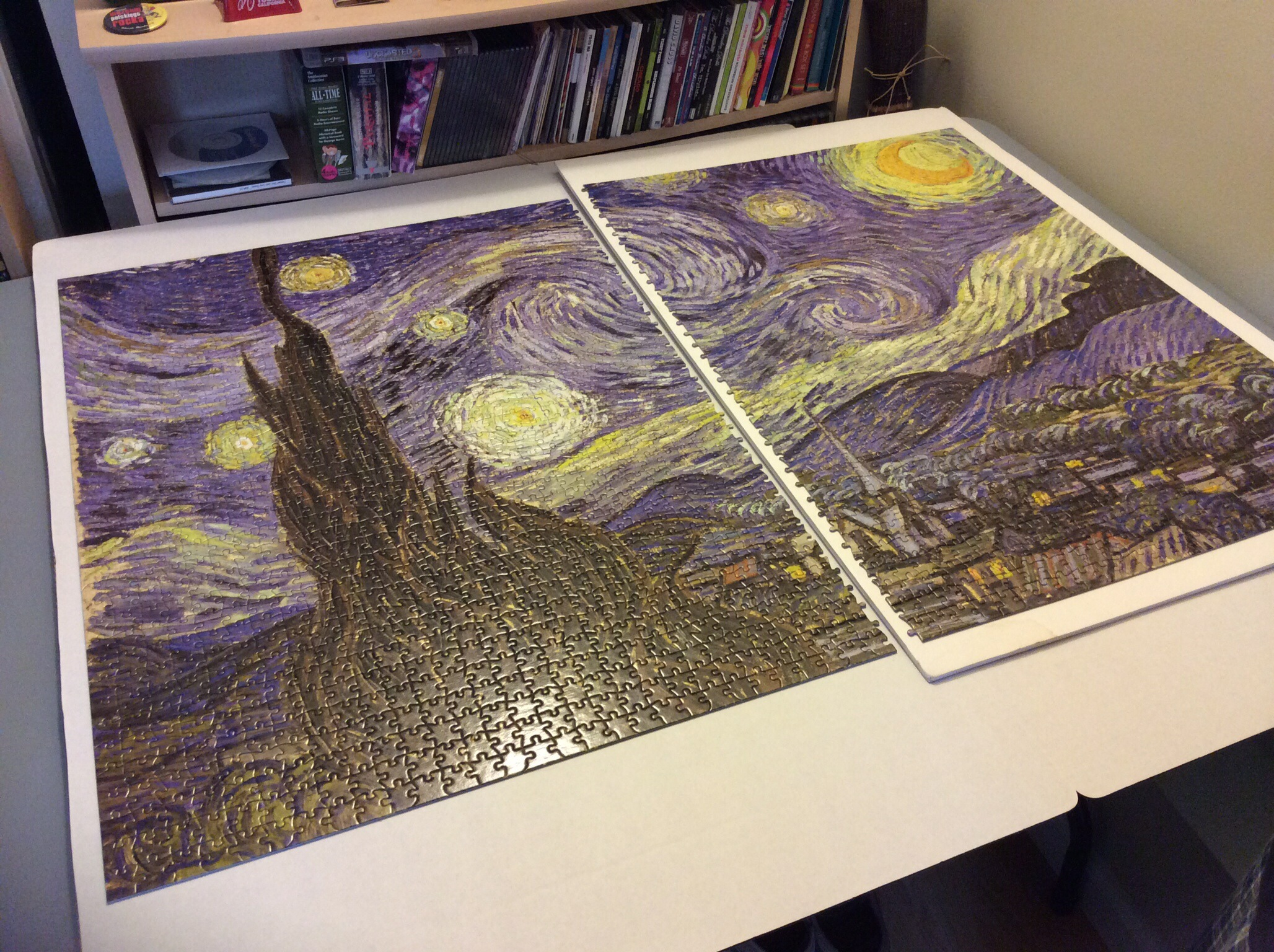 The The Starry Night Puzzle